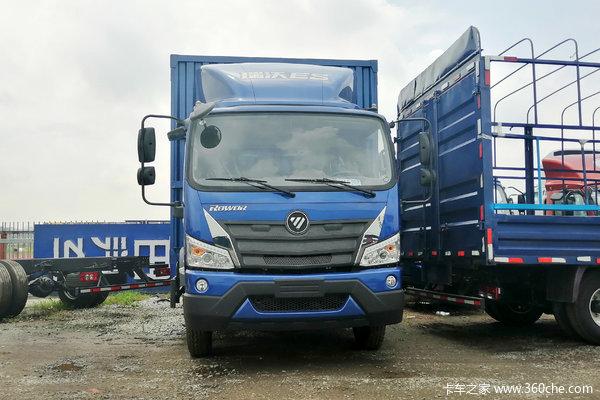 福田 瑞沃ES3 160马力 4X2 4.165米单排厢式轻卡