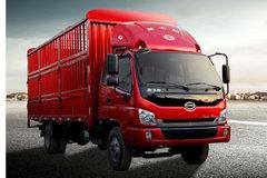 时骏 斯卡特 125马力 4X2 4.8米排半仓栅载货车(LFJ5058CCYG1) 卡车图片
