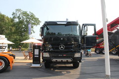 奔驰 Actros重卡 550马力 8X8载货车(型号4155底盘) 卡车图片