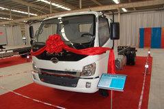 时骏 斯卡特中卡 130马力 4X2 载货车(底盘)(LFJ1088G1) 卡车图片