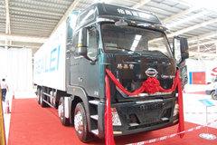 时骏 格奥雷重卡 310马力 8X4 厢式载货车(LFJ1316G1) 卡车图片