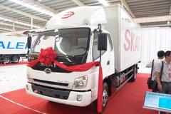 时骏 斯卡特 130马力 4X2 5.8米排半厢式载货车(LFJ5088XXYG1) 卡车图片