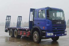 江淮格尔发 270马力 6X4 6.2米平板运输车(宽体豪华版)(HFC5251TPBP1K4E43F)