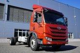 青岛解放 龙V中卡 2.0版 180马力 4X2 7.8米厢式载货车底盘(CA5189XXYPK2L5E5A80)