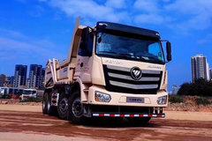福田 欧曼新ETX 9系重卡 350马力 8X4 5.6米自卸车(法士特10JS160T)(BJ3313DNPKC-AE) 卡车图片