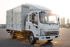 骐铃汽车 H300 116马力 3.67米排半仓栅式轻卡(JML5042CCYCD5) 卡车图片