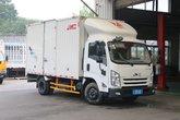 江铃 凯运微弱版 轻载型奢华款 129马力 4.08米单排厢式轻卡(宽体)(JX5042XXYXGC2)