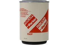 派克Parker 国三EGR及工程机械柴油发动机专用 R90P 30微米柴油旋装粗滤