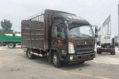 中国重汽HOWO 悍将 156马力 4.15米单排仓栅式轻卡(ZZ2047CCYG332CE145) 卡车图片