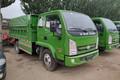跃进 上骏X系 110马力 4X2 厢式垃圾车(SH5042ZXLVEDBNW)图片