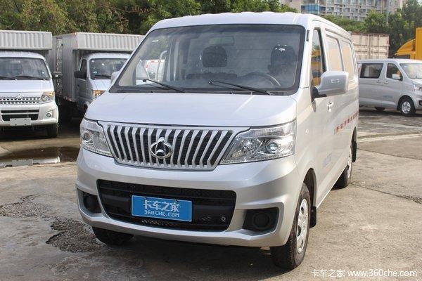 长安轻型车 睿行M60 2019款 商务型 109马力 5座 1.5L厢式运输车(国五)