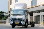 福田 欧航R系(欧马可S5) 超级卡车 220马力 8.1米排半厢式载货车(国六)(BJ5186XXY-1A)图片