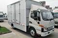 江淮 帅铃i5 4.5T 4.15米单排纯电动厢式轻卡(HFC5045XXYEV6)103.42kWh图片