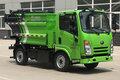 郑州宇通 4.5T 5.15米单排纯电动自装卸式垃圾车