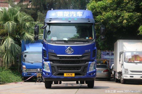 东风柳汽 乘龙H5中卡 220马力 4X2 9.7米厢式载货车(国六)