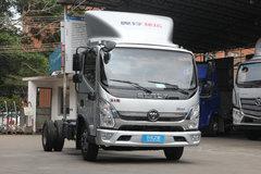 福田 奥铃速运 110马力 4.14米单排厢式轻卡(宽体)(BJ5048XXY-FC) 卡车图片