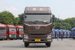青岛解放 JH6重卡 375马力 8X4 9.5米仓栅式载货车(CA5310CCYP25K2L7T4E5A80)图片
