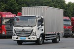 福田 欧马可S3系 110马力 3.8米排半厢式轻卡(宽轮距)(BJ5048XXY-FC)图片