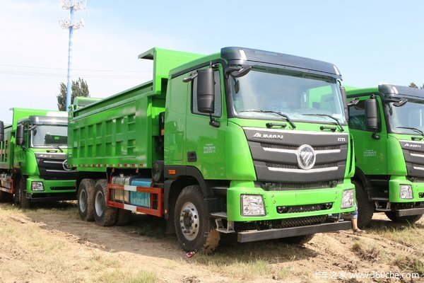 福田 欧曼GTL 9系重卡 336马力 6X4 5.6米自卸车(BJ3259DLPKB-XD)