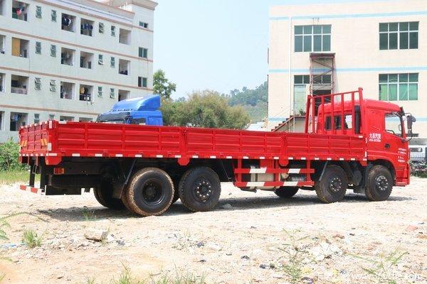降价促销三环昊龙载货车仅售23.1万起
