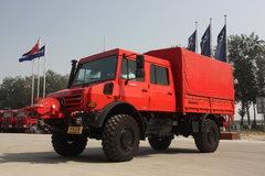奔驰 Unimog系列 218马力 4X4越野卡车(型号U4000)