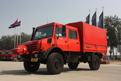 奔驰 Unimog系列 218马力 4X4越野卡车(型号U4000) 卡车图片
