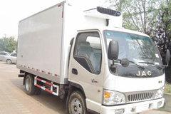 江淮 威铃  140马力 4X2 冷藏车(HFC5121XLCK1R1T)