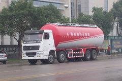 中国重汽 斯太尔王 266马力 8X4 粉粒物料车(三力牌)(CGJ5312GFL01)