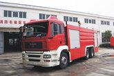 曼(MAN) TGA系列 430马力 6X4 消防车(长沙中联牌)(ZLJ5300JXFJP16)