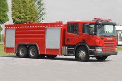 斯堪尼亚 P系列 310马力 6X4 消防车(上海格拉曼-上格牌)(SGX5240GXFSG100) 卡车图片
