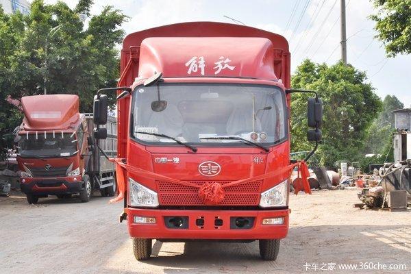 解放 J6F 130马力 4.16米单排厢式轻卡(国六)