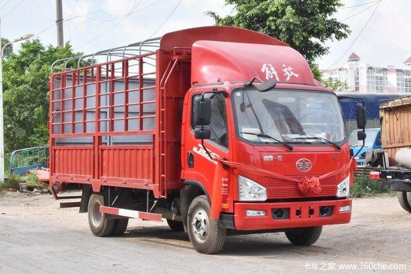 解放J6F,150马力载货车正在火热促销中