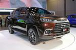 江铃 域虎9 2019款 舒享版 2.0T汽油 220马力 6挡手动 两驱 双排SUV级智能皮卡图片