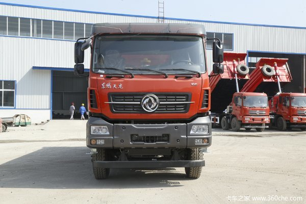 降价促销东风天龙KC自卸车仅售30.44万