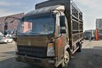 中国重汽HOWO 悍将 170马力 4.15米单排仓栅式轻卡(ZZ5047CCYF3315E143)图片