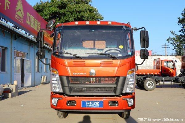 中国重汽HOWO 统帅 170马力 5.2米排半栏板轻卡