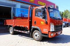 中国重汽HOWO 悍将 2019款科技版 156马力 4.165米单排栏板轻卡(ZZ1047F3315E145)