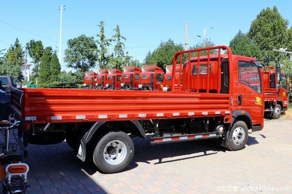 新车到店 重汽豪沃悍将载货车仅需8万元