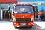中国重汽HOWO 悍将 170马力 4.15米单排栏板轻卡(6挡)(ZZ1047G3315F144)图片