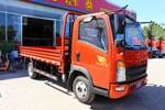 中国重汽HOWO 悍将 科技版 116马力 3.85米排半栏板轻卡(ZZ1047C3315E145)图片
