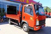 中国重汽HOWO 悍将 科技版 116马力 3.85米排半栏板轻卡(ZZ1047C3315E145)