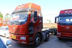 一汽解放 J6L中卡 240马力 6X2 7.7米栏板载货车(CA1250P62K1L5T3E5)