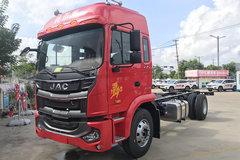 江淮 格尔发A5L中卡 麒麟版 220马力 4X2 6.8米仓栅式载货车(HFC5181CCYP3K2A53S5QV) 卡车图片