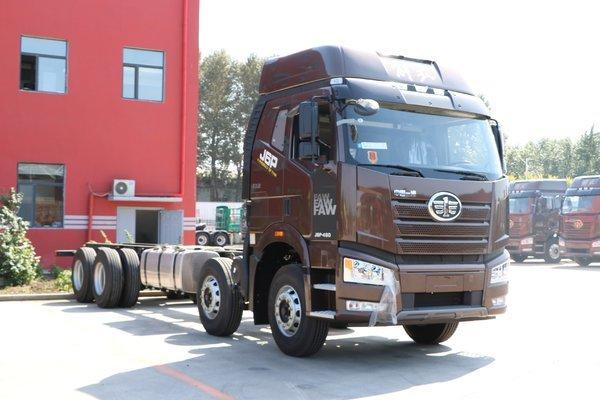 一汽解放 新J6P重卡 领航版 460马力 8X4 9.5米厢式载货车(CA5310XXYP66K24L7T4E5)