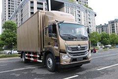 福田 奥铃大黄蜂 210马力 6.8米排半厢式载货车(BJ5186XXY-A1) 卡车图片
