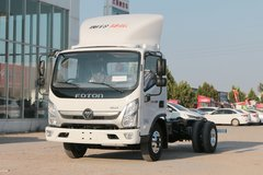 福田 奥铃新捷运 轻量化版 156马力 4.18米单排仓栅式轻卡(BJ5048CCY-A1) 卡车图片
