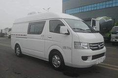 福田商务车 风景G7 129马力 4X2 冷藏车(程力威牌)