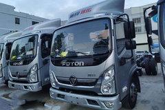福田 奥铃速运 120马力 3.8米排半厢式轻卡(国六)(BJ5045XXY-FG) 卡车图片