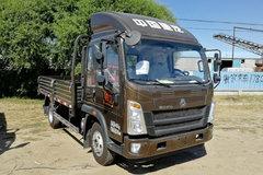 中国重汽HOWO 悍将 156马力 3.85米排半栏板轻卡(ZZ1047F3315E145) 卡车图片