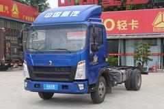 中国重汽HOWO 悍将 2019款科技版 156马力 4.15米单排厢式轻卡(ZZ5047XXYF3315E145) 卡车图片
